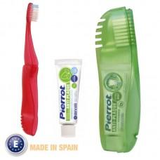 Сгъваема четка за зъби и Паста 5мл. - Pierrot TRAVEL COMPACT